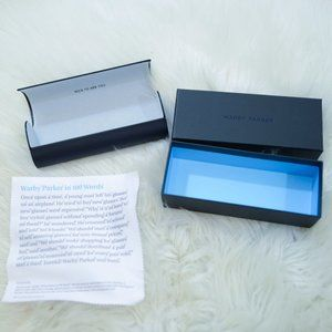 Warby Parker Case and Box